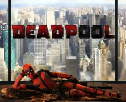 Deadpool | movie poster (manip) by xLexieRusso2
