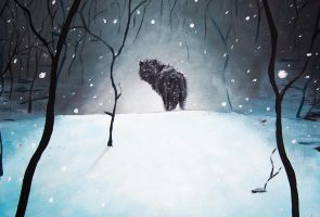 The Lone Wolf by Boosue