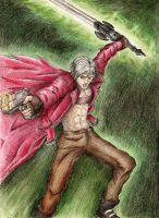 Dante, from Devil May Cry. by pukipuki25