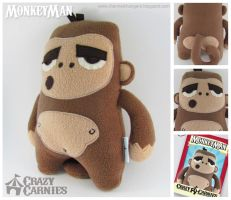 MonkeyMan Plush by ChannelChangers