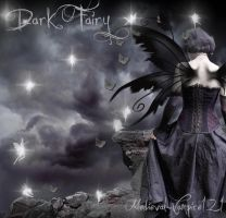 Dark Fairy by medieval-vampire121