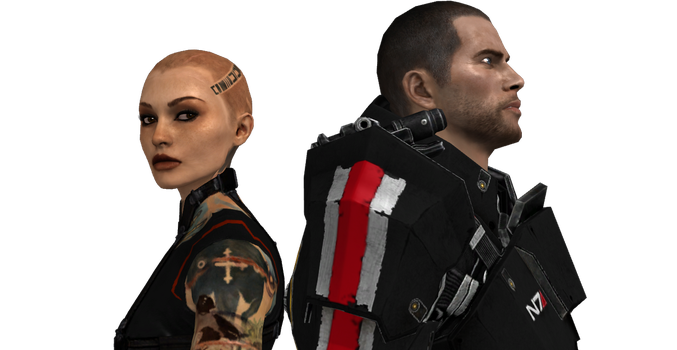 Mass Effect Jack X Shepard: Into The Unknown V2 by Aceaviator