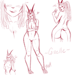 ITS Gizelle! by mrBOWATER