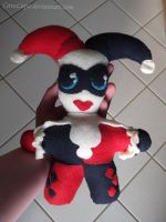 Harley Quinn Plushie by CaveLupa