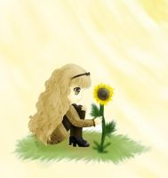 Rima's Sunflower by BriBriBlitz