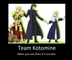 team kotomine by neogoki