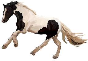 Pixel Tinker Horse by Locomatic