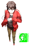 Kisaragi Shintaro (Kagerou Project) - Render by azizkeybackspace