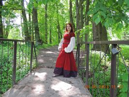 red kirtle by Antalika