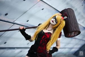 Harley Quinn - Calisto@LBM 2015 by BennyCosplayPhotos