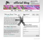 Asterisk Medias Blog Design by EternalheX