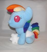 Baby Rainbow Dash by Gypmina