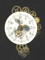 Clock pin by steampunklighting