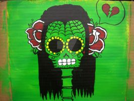 day of the dead heart break by SailorsMouth