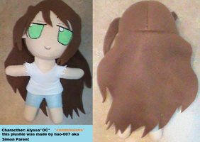 Alyssa plushie by Hao-007