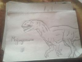 Majungasaurus-no shadow by NocteBruti