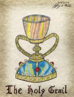 The Holy Grail by Jeffrey-Scott