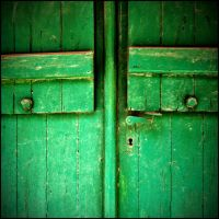green door by katpi