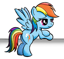 Rainbow Dash by drawponies