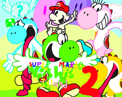 Super Mario world 2 fan pic by comedyestudios