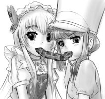 Chaika x Nonon OTP by AlloyRabbit