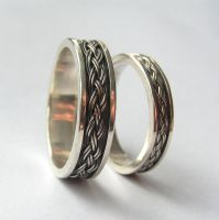 Celtic rings by edhelien