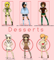 (Collab) Dessert Adopts Auction! by ribbon-adopts