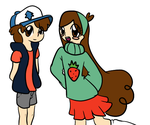 Colored by Ask-Mabel-And-Dipper