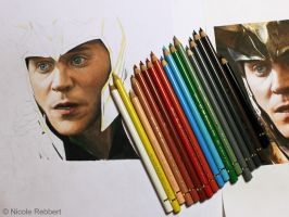 Loki - It's too late... WIP by Quelchii