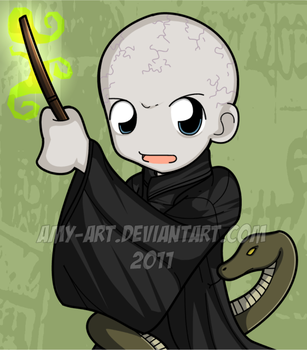 Voldemort - Harry Potter by amy-art