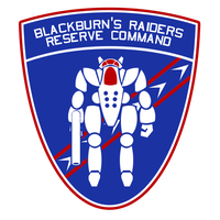 Blackburn's Raiders Auxiliary Command Insignia by Viereth