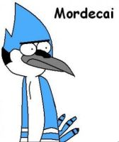 Mordecai in MS Paint by samuraiclawarmor