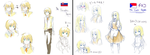 Slovakia and Czechia by AliceTomatoChan