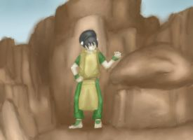 Avatar- Toph Training by anime-halo