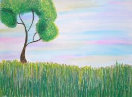 A Tree Stands Alone by ToniTiger415