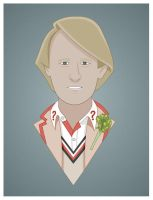 Peter Davison 1982 to 1984 by Nevski86