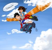 GR: Up into the sky by yuminica