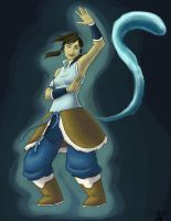 Korra! by river-bird