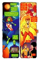 Young Justice Comic by Aerrow1324