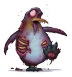 Zombie Penguin by DaveAllsop