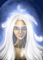 Moon by Arnelica
