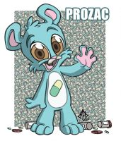 Bear Nuts: Prozac by jmh3k