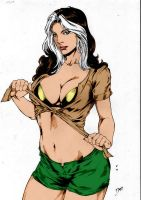 Rogue X Men By Deilson by Kenkira