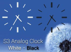 S3 Analog Clock for xwidget by jimking