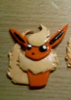Flareon Necklace pendant by CynicalSniper
