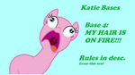 Base 4: MY HAIR IS ON FIRE!!! by katelove77