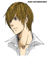 Light  Yagami by xGiveYourHeartABreak