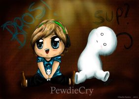 PewdieCry by MiladySantos