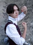Levi cosplay - Attack on titan OAV by Firmily