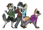The Pigeon Squad by TheCynicalHound